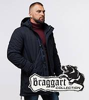Braggart Status 45777 | Мужская теплая куртка т-синяя