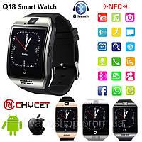 Смарт часы, Smart Watch Q18, розумний годинник. SIM, SD card.
