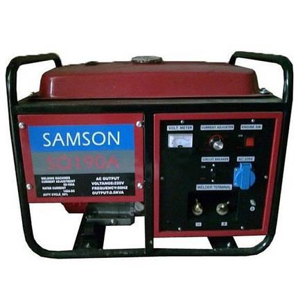 Генератор бензиновый сварочный SAMSON SQ-190A (2,5 кВт), фото 2