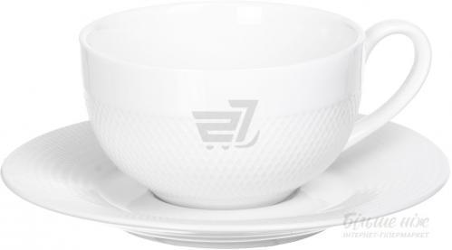 Чашка с блюдцем Diamond 140 мл BA1137+BA1047 Fiora