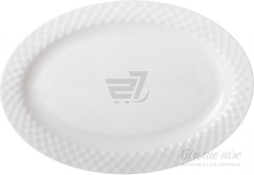 Блюдо овальное Crystal 35,5 см Fiora