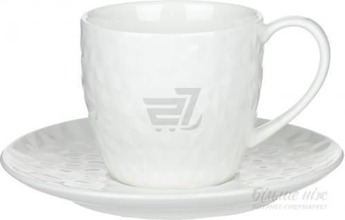 Чашка с блюдцем Chic 210 мл Fiora