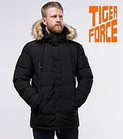 Tiger Force 70450 | Куртка зимняя мужская черная, фото 1