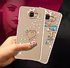 "LG G7 ThinQ оригинальный чехол накладка бампер панель со стразами камнями на телефон ""MHDM"", фото 4"