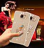 "LG G7 ThinQ оригинальный чехол накладка бампер панель со стразами камнями на телефон ""MHDM"", фото 7"