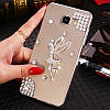"LG G7 ThinQ оригинальный чехол накладка бампер панель со стразами камнями на телефон ""MHDM"", фото 8"