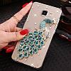 "LG G7 ThinQ оригинальный чехол накладка бампер панель со стразами камнями на телефон ""MHDM"", фото 9"
