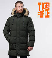 Tiger Force 76420   Мужская куртка теплая темно-зеленая, фото 1