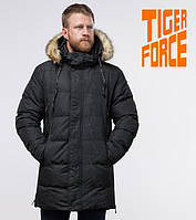 Tiger Force 77080 | Мужская фирменная куртка черная, фото 1