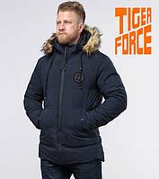 Tiger Force 55825   Зимняя куртка с опушкой синяя, фото 1
