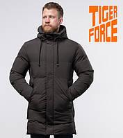 Tiger Force 56460 | Мужская зимняя куртка кофе, фото 1
