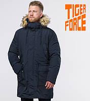 Tiger Force 58406 | Мужская зимняя парка темно-синяя, фото 1