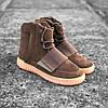 Кроссовки Adidas Yeezy boost 750 brown gum
