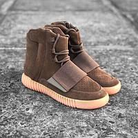 Кроссовки Adidas Yeezy boost 750 brown gum, фото 1