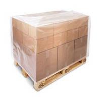 Термоусадочные пакеты для фин-паллет 1200*1000, мешки толщиной 120 мкм
