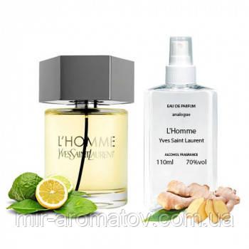 №213 Чоловічі парфуми на розлив Yves Saint Laurent L Homme 110мл