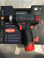 Акумуляторний Шуруповерт Craft CAS-12SL 2.0 А