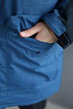 Мужская зимняя куртка в стиле Nike удлиненная , фото 3