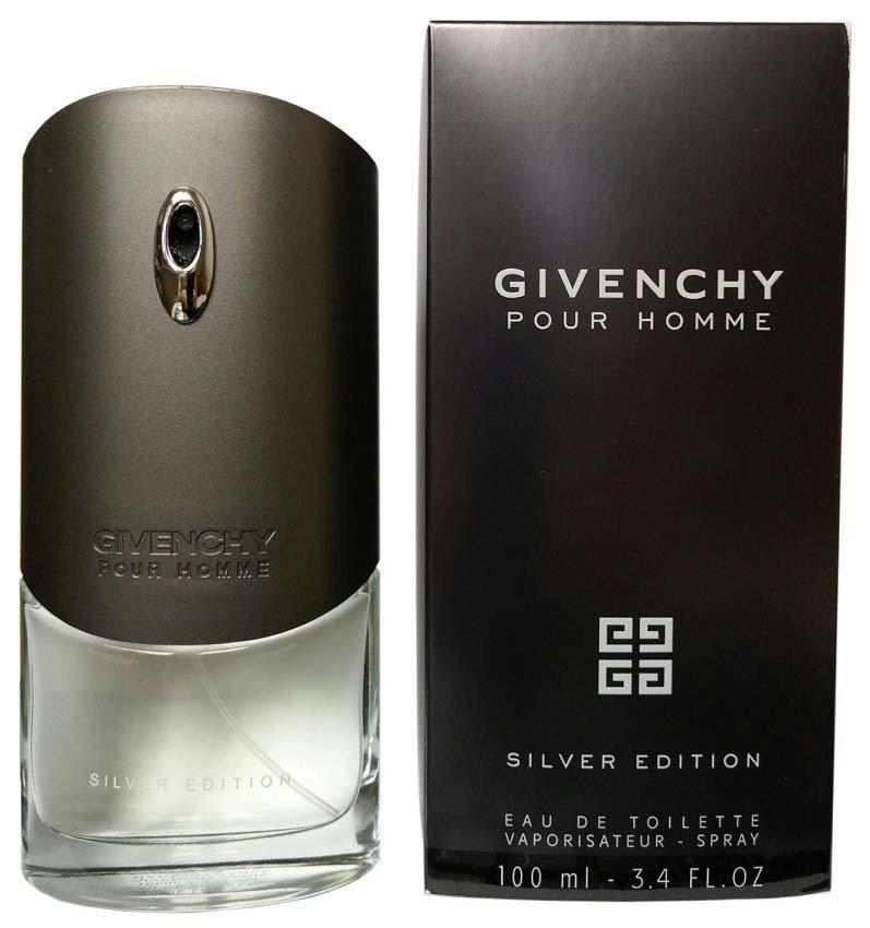 Мужской аромат Givenchy Silver Edition Pour Homme