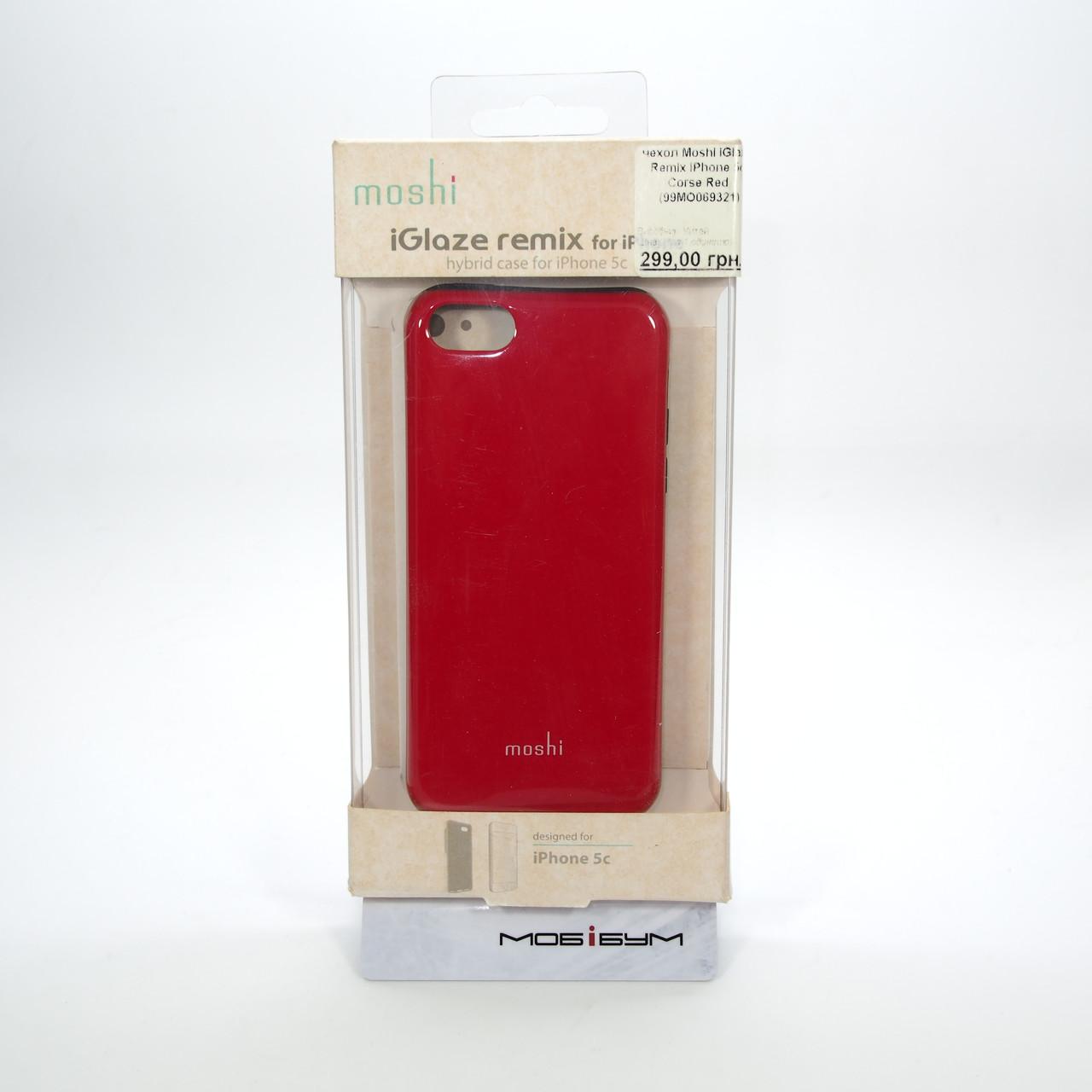 Moshi iGlaze Remix iPhone 5c Corse red Apple 5C Для телефона Чехол