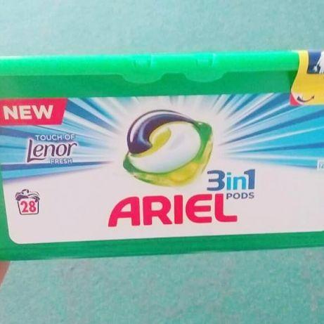 Капсулы для стирки Ariel Pods Lenor 28 шт.