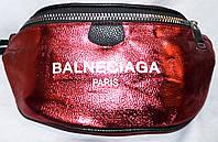 Женский красный клатч на пояс из искусственной кожи 33*17 см