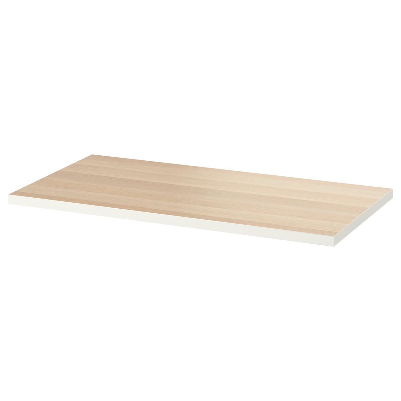 Столешница IKEA LINNMON 120x60 см беленый дуб 803.537.38