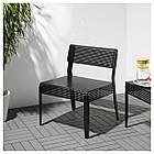 Кресло IKEA SJÄLVSTÄNDIG черное 404.149.27, фото 4