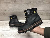 Мужские кожаные зимние ботинкиLand, фото 1