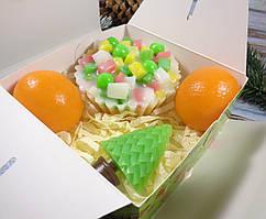 """Подарочный набор мыла """"Вкусного Нового года"""" №1"""