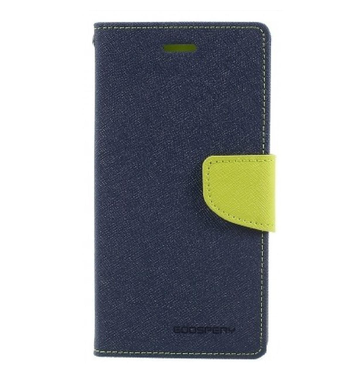 Чехол-книжка Mercury Goospery Fancy Diary series для Samsung Galaxy J7 (2017) SM-J730F Blue Lime
