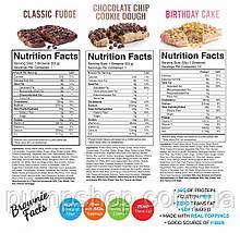 Протеиновый батончик RSP Nutrition Protein Brownie 1 шт. 53 г, фото 2