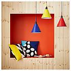 Люстра IKEA FÄRGSTARK красная 303.995.31, фото 4