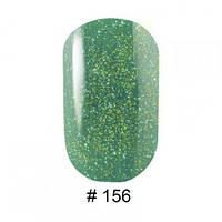 Гель лак для ногтей G. La Color №156 (зеленая трава с мерцанием) 10 мл
