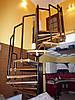 """Лестница """"утиный шаг""""."""