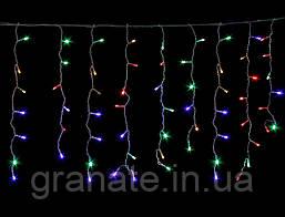 Светодиодная гирлянда Штора 1.5х1.2 м 144 Led, разноцветная