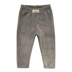 Теплые флисовые штанишки Andriana Kids для мальчика от 1 до 4 лет серые