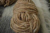 Гушка пряжи из натуральной овечьей шерсти для вязания