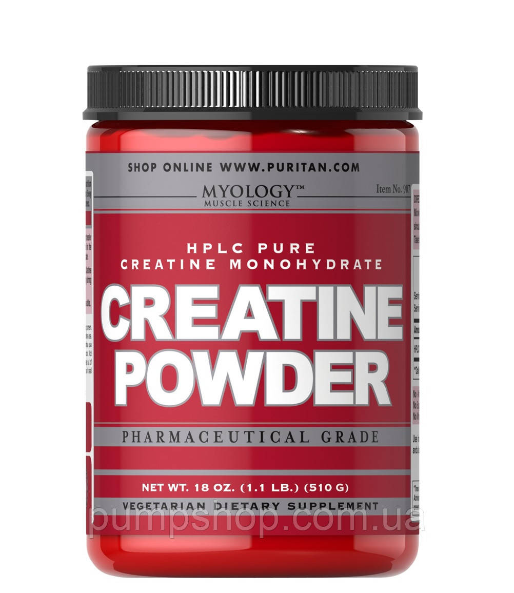 Креатин-моногидрат Myology Creatine Powder 510 грамм 102 порц.