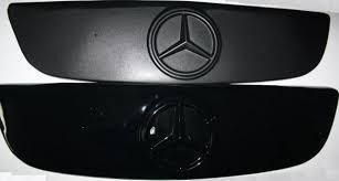 """Зимняя накладка Mercedes Sprinter 2006-2013 На решетку радиатора Глянец """"FLY"""""""