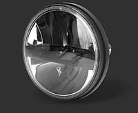 Фара мото LED 7 дюймів DL-J726 Нива, УАЗ 469, ГАЗ 24, ВАЗ 2101, Хаммер, FJ Cruiser, w463, Harley-Davidson