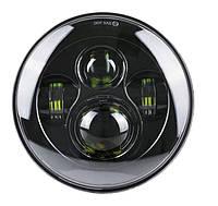 Фара мото LED 7 дюймов, фара головного света, УАЗ 469, ГАЗ 24, ВАЗ 2101, FJ Cruiser, w463, Harley-Davidson,
