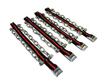"""Ланцюга """"сектор"""" розмір L (R13-R15) довжина ланцюга 23см 4шт+рукавички+сумка (кт.)"""