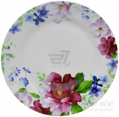 Тарелка обеденная Шиповник 23 см Keramia