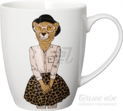 Чашка Модные звери Мисс Леопард 360 мл 21-272-068 Keramia