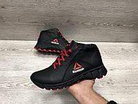 Мужские кожаные зимние ботинки Reebok star, фото 1
