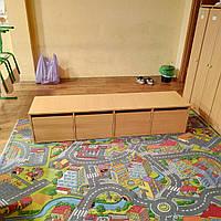 Лавка с выдвижными ящиками 180 см