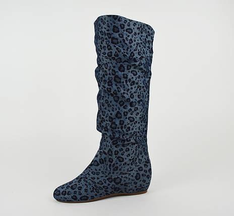 Сапоги джинс-текстиль Квин 195-003, фото 2