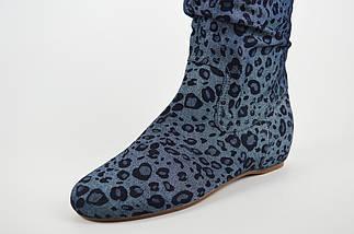 Сапоги джинс-текстиль Квин 195-003, фото 3