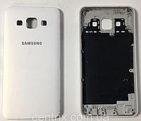 Задняя крышка для Samsung A300H Galaxy A3 (2015), A300F, белая, оригинал